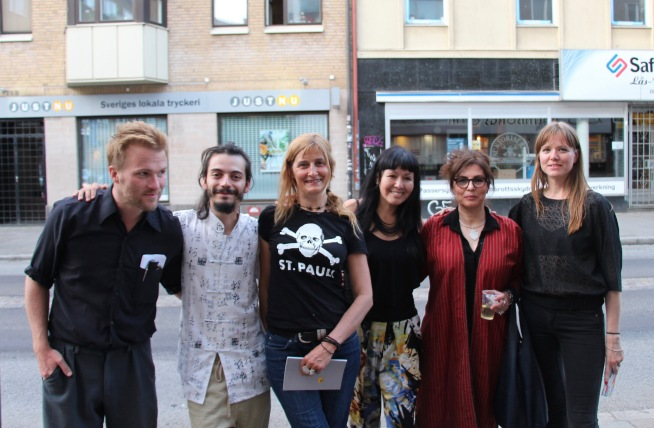 Daniel Malpica, Lalo Barrubia, Roxana Crisólogo, Azita Ghahreman and Petronella Zetterlund