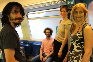 Daniel Malpica, Mazen Marouf, Petronella Zetterlund and Lalo Barrubia