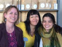 Randi W. Stebbins, Roxana Crisólogo and Beatriz Portugal